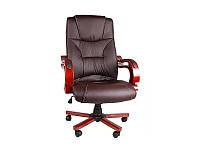 Кресло офисное BSL 003 коричневое