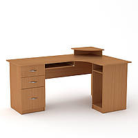 Стол компьютерный СУ-3 бук Компанит (160х110х87 см), фото 1