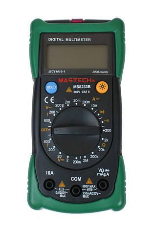 Цифровой мультиметр Mastech MS8233B, фото 2