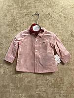 Нарядная рубашка c бабочкой для новорожденного Mayoral 60см 1-2мес