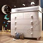 Комод-пеленатор Luxury орех темный, фото 3