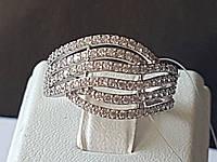 Серебряное кольцо с фианитами. Артикул 901-00340 16, фото 1
