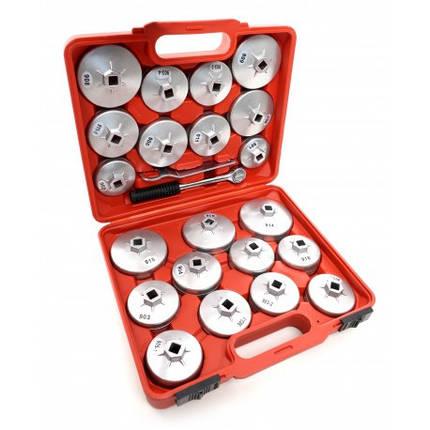 Набор съемников масляных фильтров 23 ед. KD10501, фото 2