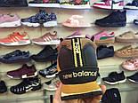 Зимние кроссовки New Balance 754 HL754BB yellow без меха. Живое фото (Реплика ААА+), фото 6