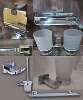 Латунный хромированный набор аксессуаров для ванной комнаты