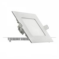 Светильник LED встраиваемый в потолок квадратный 6W лед, фото 1