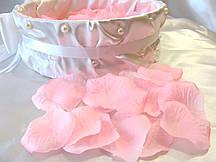 Лепестки роз искусственные Розовые (150-170 шт/уп)