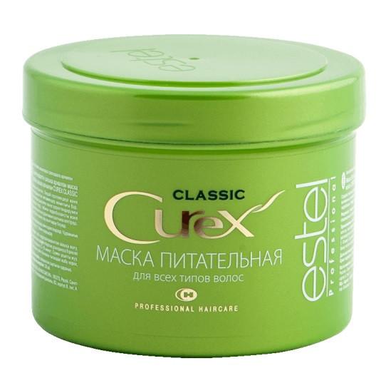 Маска Питательная CUREX CLASSIC для всех типов волос, 500 мл. Estel professional (Эстель)