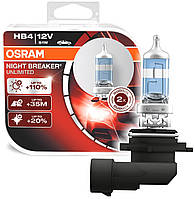 "Автомобильные галогенные лампы ""OSRAM"" (HB4)(12V)(51W)(Night Breaker Unlimited)(+110%), фото 1"