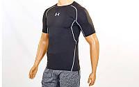 Компрессионная мужская футболка Under Armour черный
