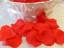 Лепестки роз искусственные Красные (150-170 шт/уп)