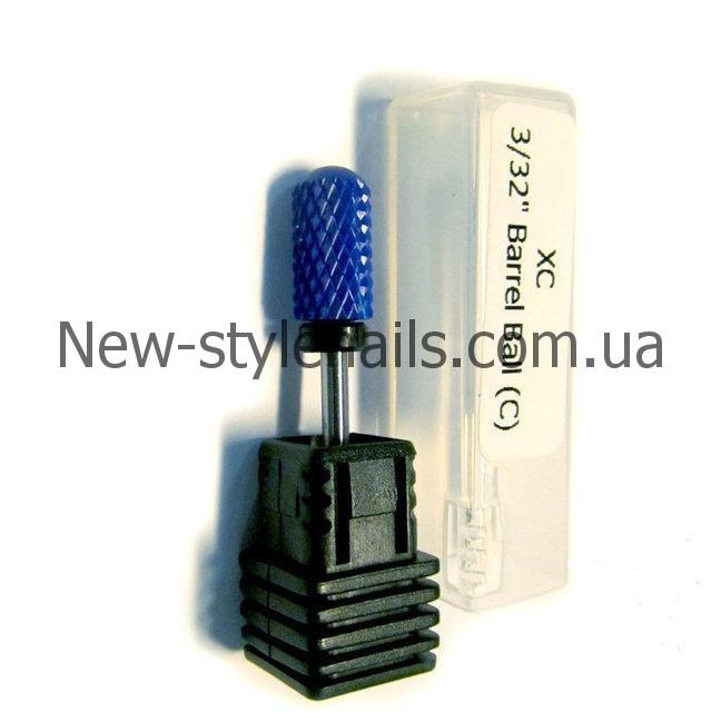 Насадка керамическая для снятия геля, (синяя) XC BARELL BALL №6