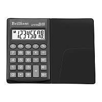 Калькулятор Brilliant BS-200 8ми разрядный, 1 тип питания