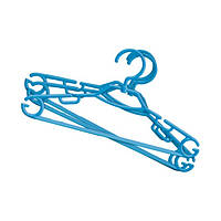 Набор пластмасовых вращающихся вешалок для одежды МИНИ из 6 шт YORK HIM-Y-067020
