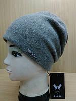 Georgia зимняя женская шерстяная шапка Kamea, какао цвет, фото 1