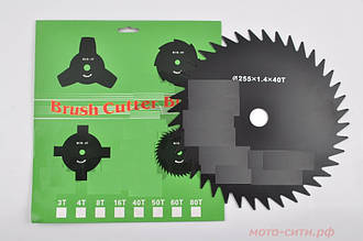 Диск до мотокоси Brush Cutter Blade 40Т