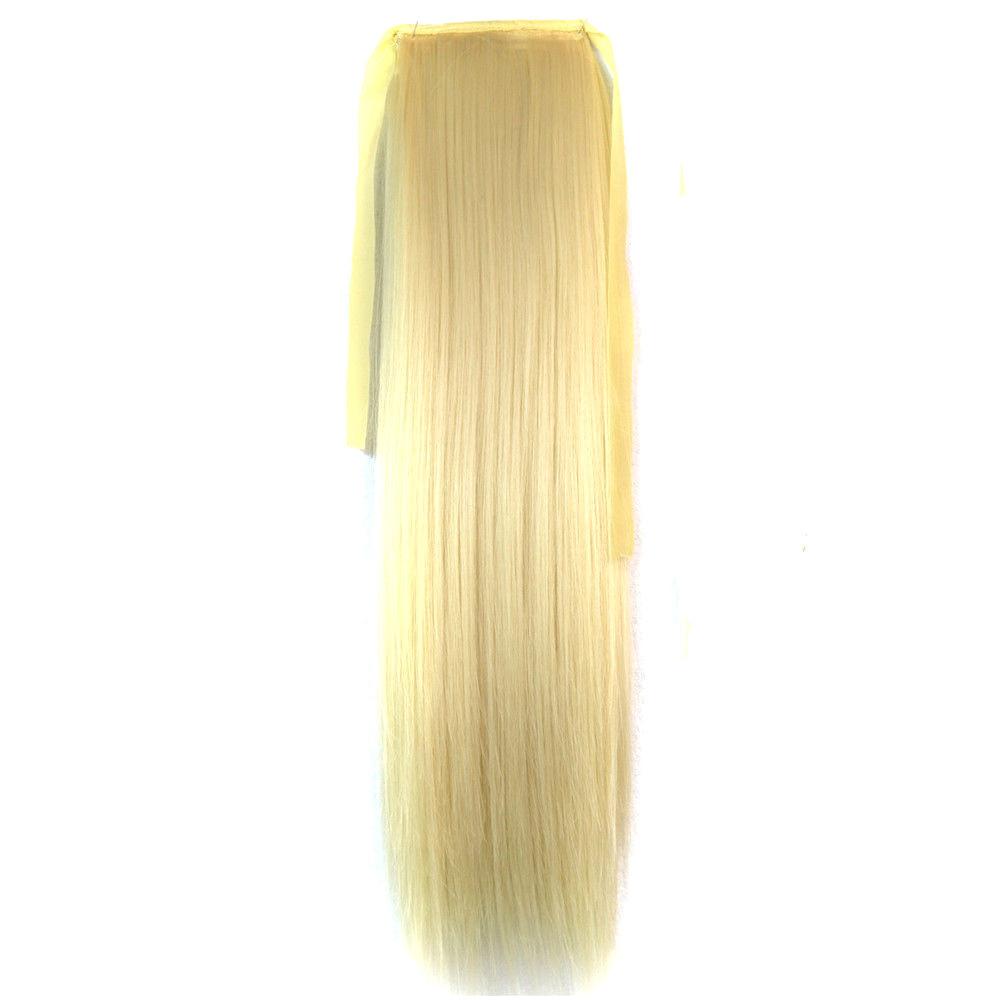 Искусственный хвост на ленте оттенок №613 блонд