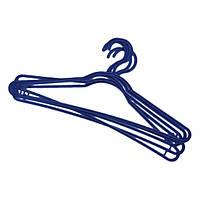 Набор пластмасовых вешалок для одежды STANDARD из 5 шт YORK HIM-Y-067000