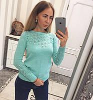 Красивый женский повседневный свитер 8505JS