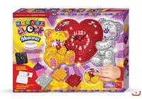 Набор для творчества Mosaic Clock Мишки с сердечком Danko Toys