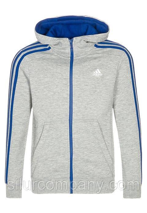 cd88eaf8 Детский спортивный костюм Adidas для мальчика серый - Интернет магазин