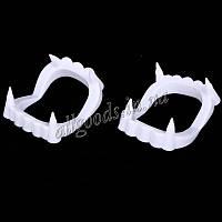 Зубы вампира вставные белые (Vampire-teeth-white)