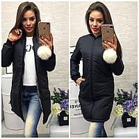 Пальто женское демисезонное синтепон 150