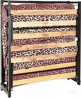 Кровать раскладушка  190 см с ламелями и матрасом