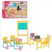 Игровой набор Школа9916 стол, стулья, мольберт