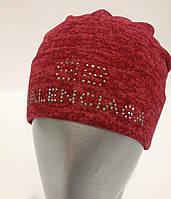 Женская шапка-чулок из трикотажной ангоры 8613AK