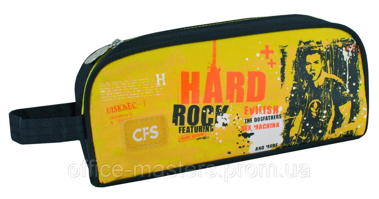 """Пенал мягкий """"Hard Rock"""", прямокугольный - Офис-Мастер в Одессе"""