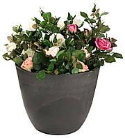Напольный садовый горшок - вазон для цветов, высота 40 см