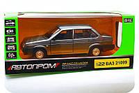 Машинка игровая Автопром «ВАЗ 21099» (свет, звук)