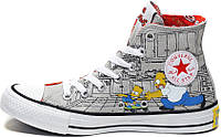 Мужские кеды Converse All Star The Simpsons, конверс