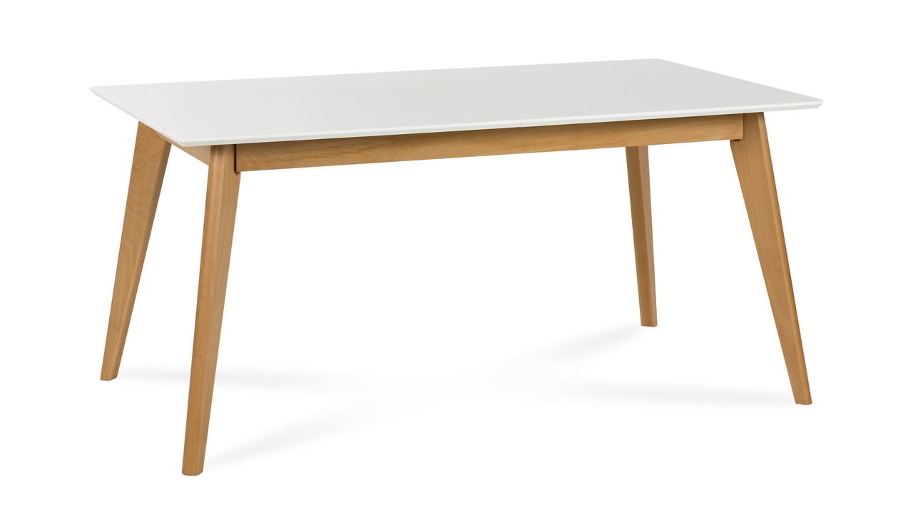 Обеденный стол DANTE biały 140+40/80 (Atreve)