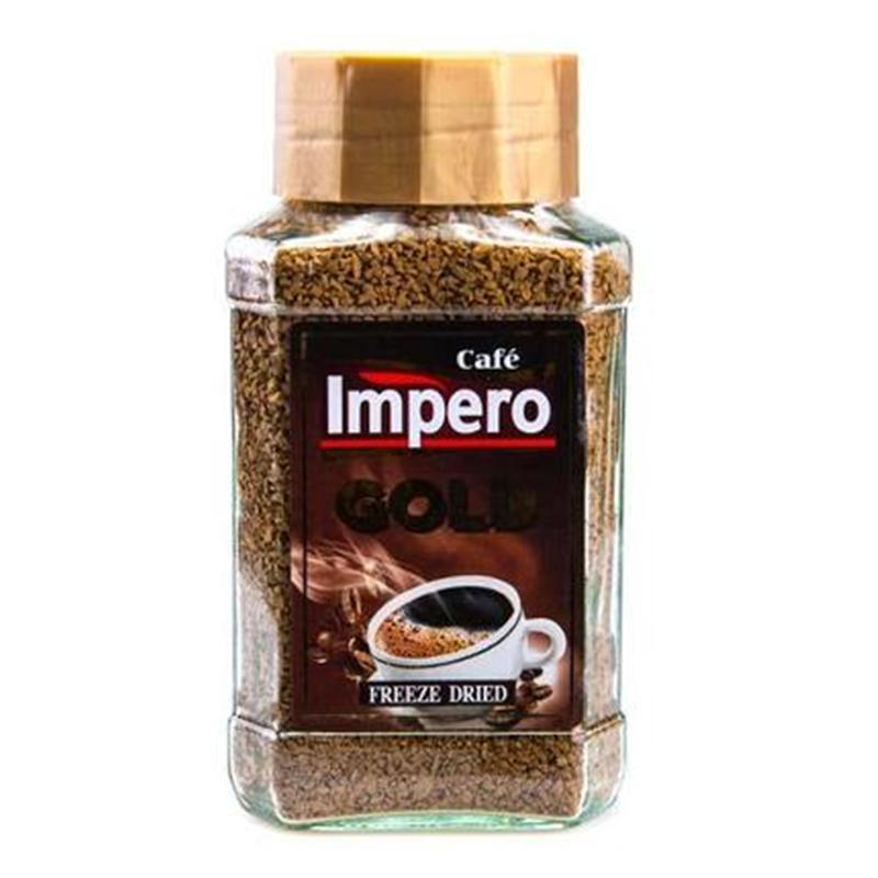 Кофе растворимый Cafe Impero Gold, 200 г (Польша)
