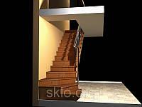 """Лестница """"под ключ""""."""