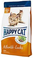 Корм для кошек с лососем Happy Cat Atlantik Lachs