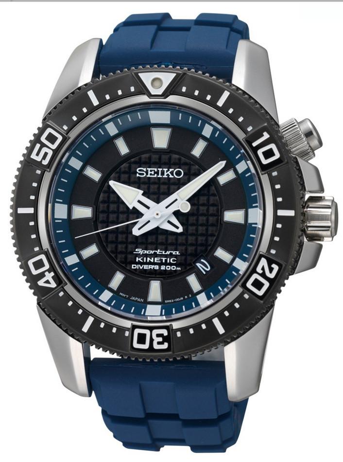 Механические наручные часы Seiko Sportura Kinetic