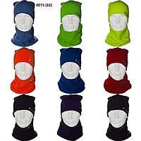 Мужской  комплект шапка +хомут 0071(32)