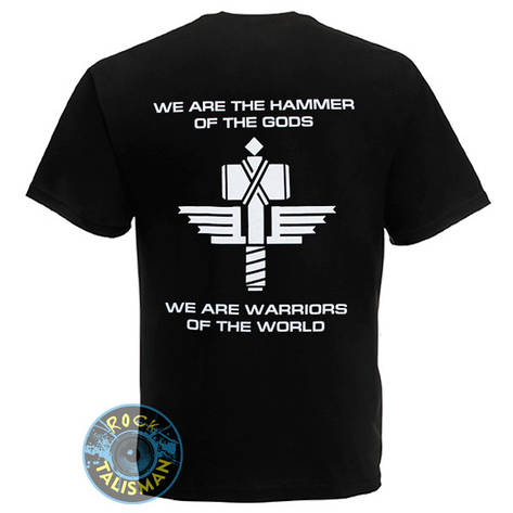 Футболка MANOWAR Warriors Of The World, фото 2