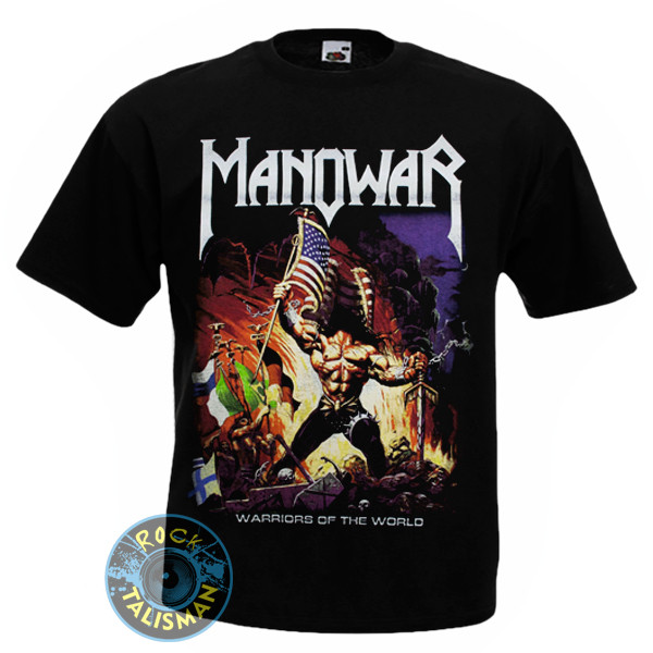 Футболка MANOWAR Warriors Of The World