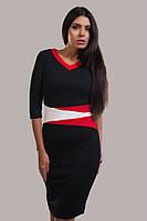 """Шикарное женское платье ткань """"Кукуруза"""" 48, 50, 52, 54 размер батал"""
