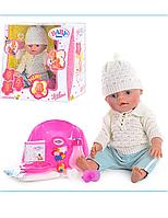 Пупс кукла Baby Born Бейби Борн BB 8001-E (Зима) Маленькая Ляля новорожденный с аксессуарами