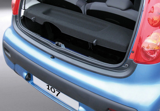 RBP290 Rear bumper protector Peugeot 107 2005-2014