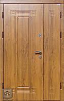 """Входные металлические двери (двустворчатый дверной блок) Форт-Нокс """"Акцент"""""""