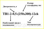 Весы платформенные электронные ТВ1...-12ер, нержавейка (21 модель), фото 2