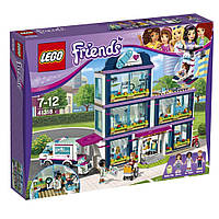 Конструктор LEGO Friends Клиника Хартлейк-Сити  Heart lake Hospital Construction Toy 41318