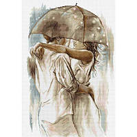 """Набір для вишивання хрестиком """"Під парасолькою"""""""