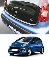 Накладка заднего бампера Peugeot 107 2005-2014